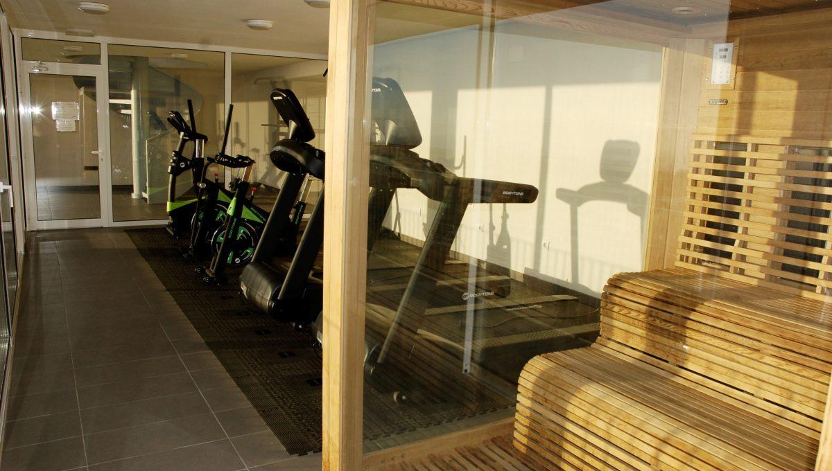 14 gym con sauna